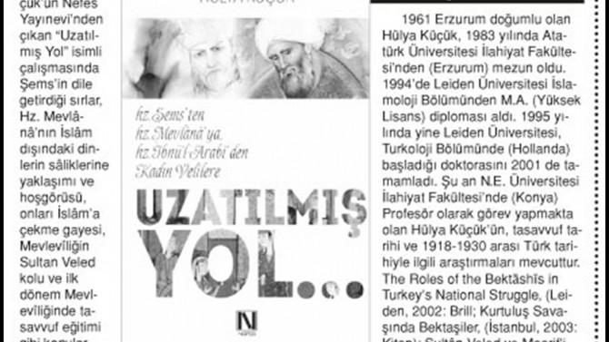 """""""Uzatılmış Yol"""" ÖnceVatan Gazetesi'nde yer aldı."""
